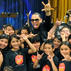The Black Eyed Peas' Taboo Raps and Little Kids Rock!