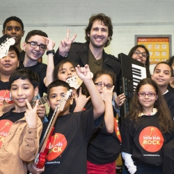 Josh Groban Surprises Kids With Instruments
