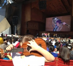 1,600 Little Kids Rock Students and Teachers Jam at CPS Kickoff Event at Millennium Park