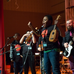 NYC Teachers Create a Place of Collaboration and Caring with Modern Band Concert