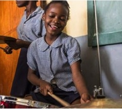 Haitian Girl Proves Drums Aren't Just For Boys