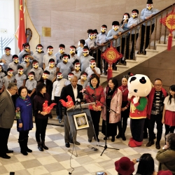 Students from PS149K in Brooklyn Ring in the Chinese New Year Worldwide!