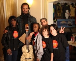 12-year-old Little Kids Rock Student Opens for Michael Franti