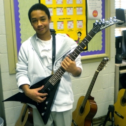 Little Kids Rock Alumnus Quinton Richardson Reveals His Unique Relationship with Guitar Legend, Randy Rhoads