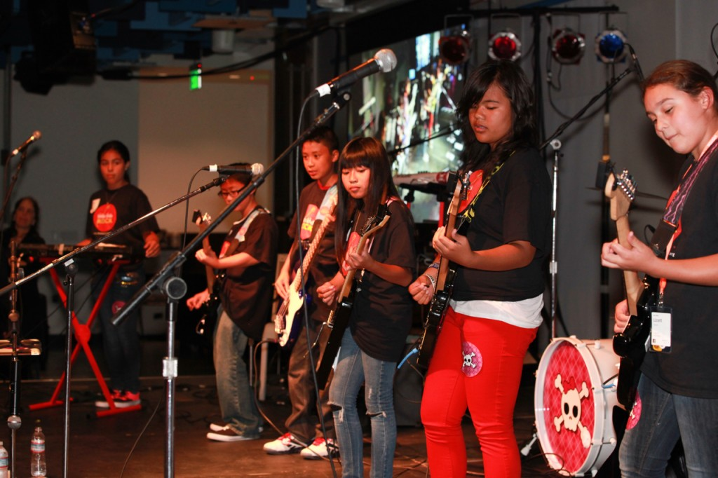 Josef gave these local Little Kids Rock students the opportunity of a lifetime when they to perform for a packed crowd at Facebook HQ