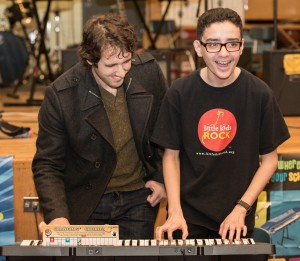 Josh Groban Jamming