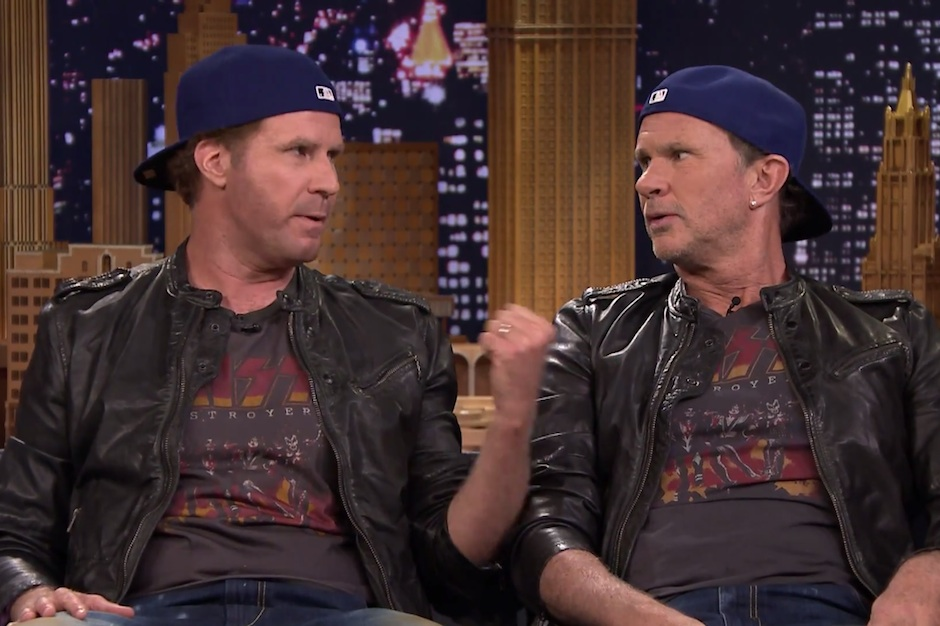 Tonight Show Drum-Off with Will Ferrell and Chad Smith