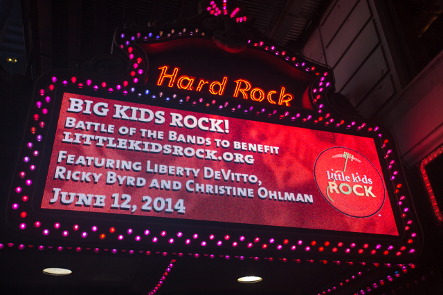 Big Kids Rock: Battle of the Bands, NYC, 2014