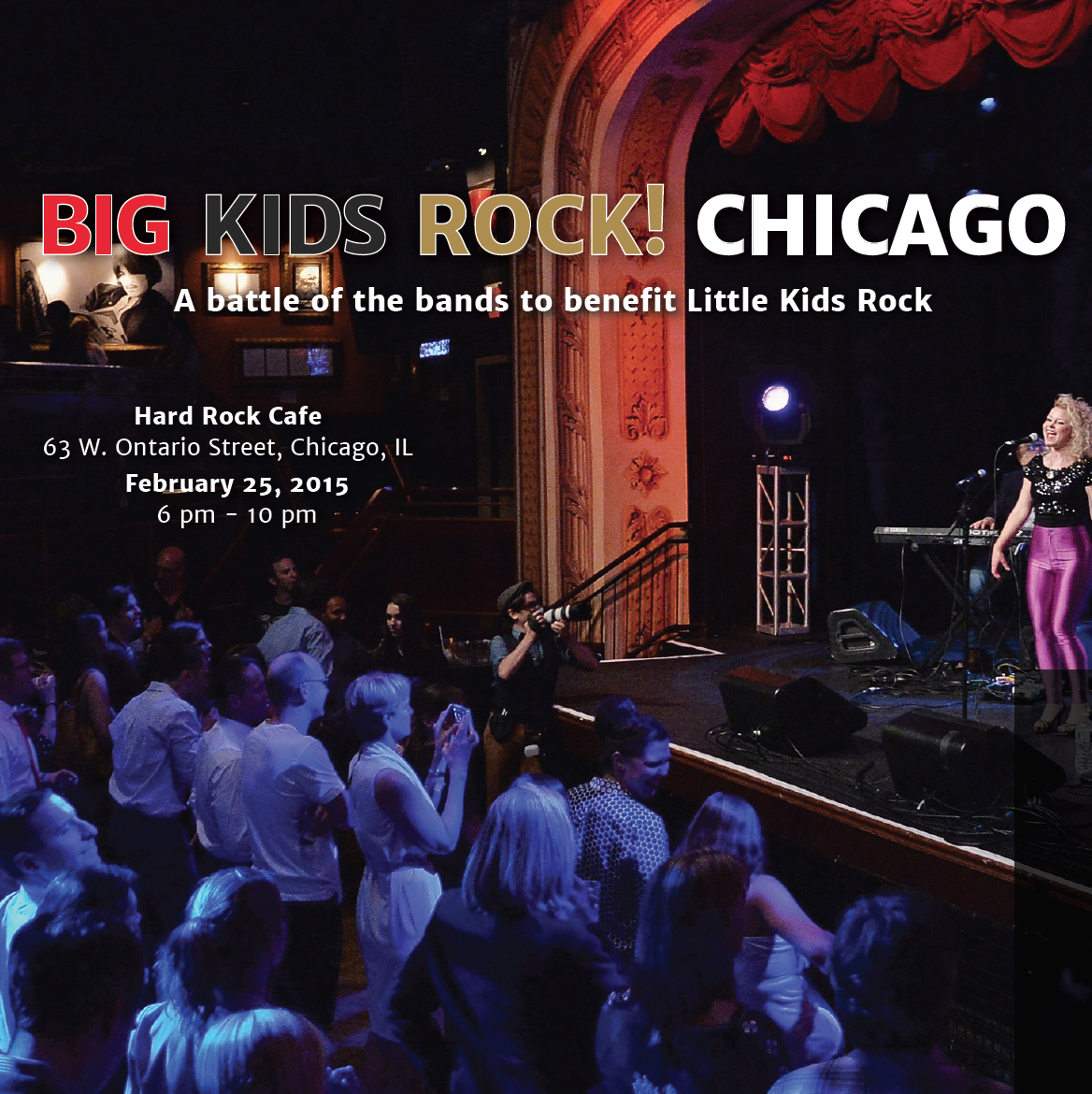 Big Kids Rock! Battle of the Bands, Chicago, 2015
