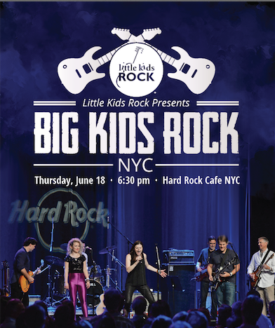 Big Kids Rock! Battle of the Bands, NYC, 2015