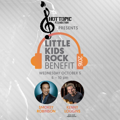 2016 Little Kids Rock Benefit, honoring Smokey Robinson and Kenny Loggins