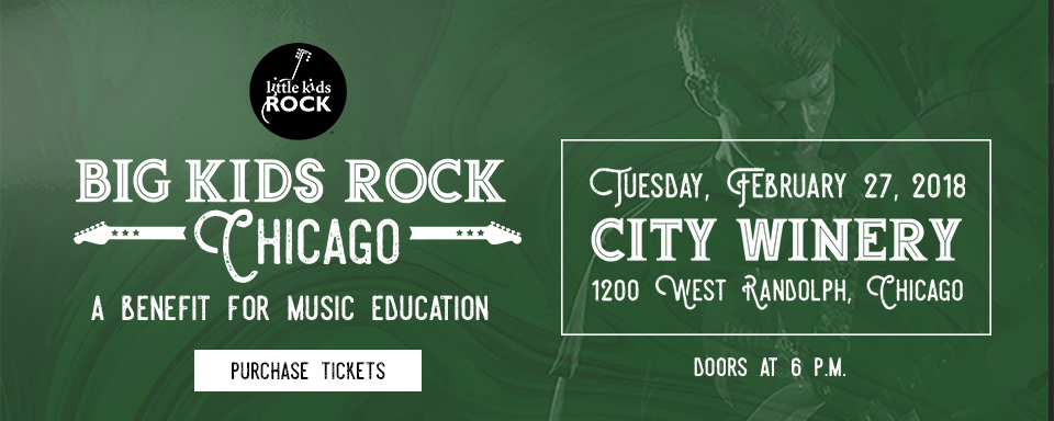 February 27, 2018 - Big Kids Rock Chicago, 2018